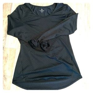 Athleta long-sleeve, Chi Top. Size small.